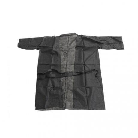 Bata cliente desechable tipo Kimono, 10 und.