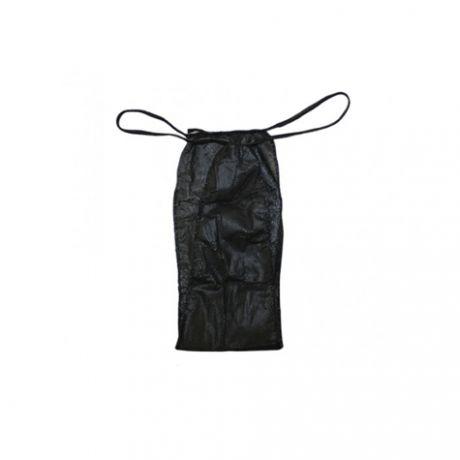 Tangas desechables de tnt para hombre en negro, 100 und.