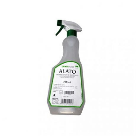Alato desinfectante de superficies, 750 ml.