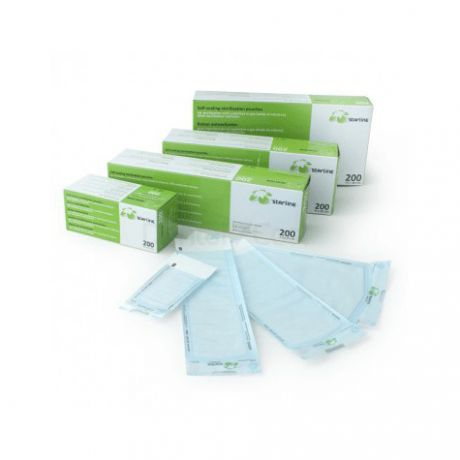 Bolsas autosellantes para esterilización, caja 200 und.