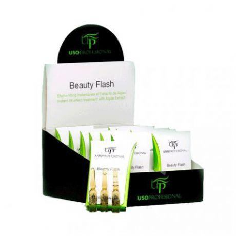 Ampollas flash efecto lifting de belleza instantánea de 2 ml en expositor de 36 unidades