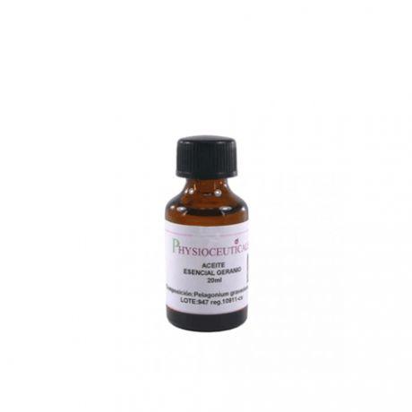 Aceite esencial de geranio, 20 ml.