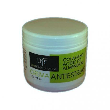 Crema antiestrias de USO PROFESIONAL, 500 ml.