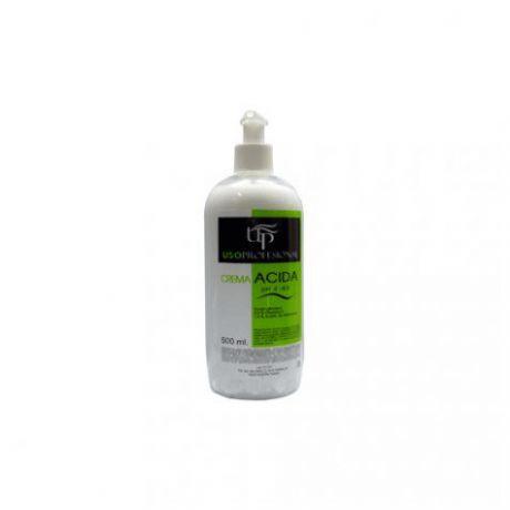 Crema acida post depilación de uso profesional, 500 ml.