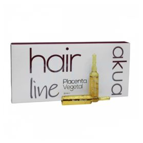 Ampollas anticaída para el pelo de 10 ml en cajas de 10 ampollas.