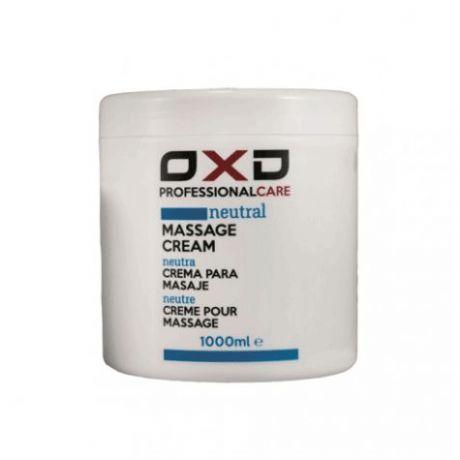 Crema de masajes neutra OXD Profesional Care, 1000 ml