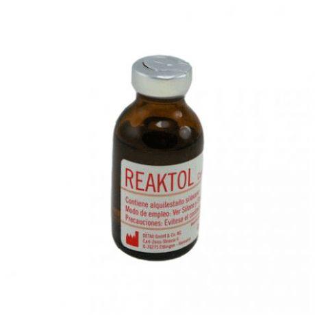 Reaktol, catalizador para siliconas de condensación - 20 ml.