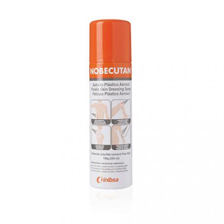 Nobecutan aposito plastico aerosol, 250 ml.