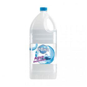 La Tuna Agua Destilada, Garrafa 5 L.