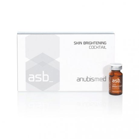 Anubismed Skin Brightening Cocktail, 5 amp x 10 ml.