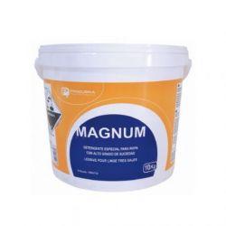 Magnum Detergente Desinfectante Blanqueante 25 Kg.