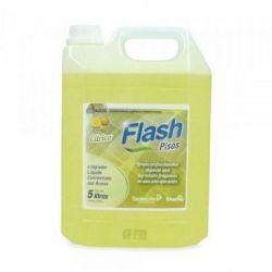 Flash Limpiador Abrillantador de Suelos 5 L. Caja 4 unid.