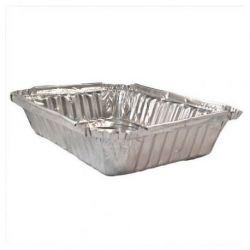 Envase Aluminio Rectangular 315x215x42 mm. Caja 100 Unid.