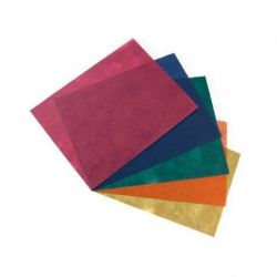 Mantel Celulosa 1x1, 40 grs. Varios Colores, Caja 400 unid.