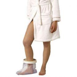 Cubre escayolas sencillos y cómodos de pie - tobillo para adultos, longitud 254 mm.