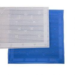 Stay Put alfombrilla antideslizante de baño 51 x 51 cm Blanco