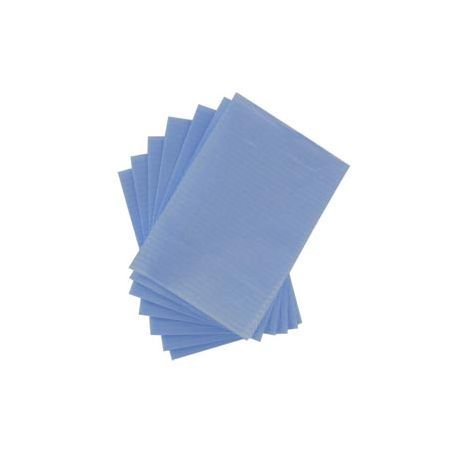 Toallas desechabes Azules Calidad Extra, 90 x50 cm. pack 25 unid