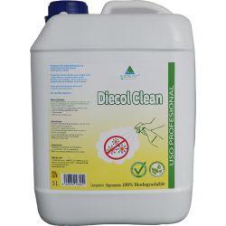 Diecol Clean Limpiador higienizante 100% Biodegradable, 5 Litros para diluir en agua