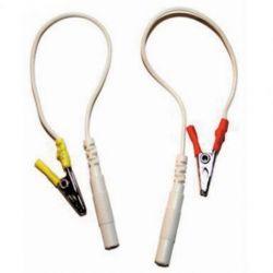 Cables con pinza Cocodrilo (1 Par)