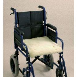 Cojin de lana para silla de ruedas Seat
