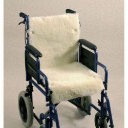 Cojin de lana para silla de ruedas Seat and back