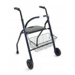Andador 2 ruedas y asiento
