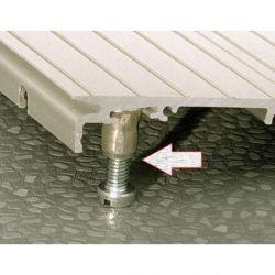 Rampa para umbral interior de altura ajustable