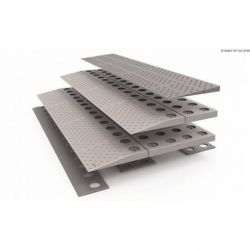 Rampa modular SecuCare, 84 x 6 x 45 cm - 3 capas