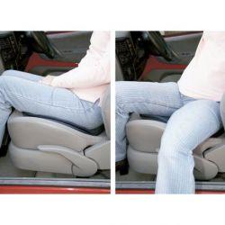 Cojin giratorio flexible para coche