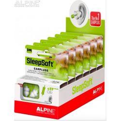 Tapones Alpine SleepSoft en cajas para display