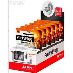 Tapones Alpine PartyPlug en cajas para display