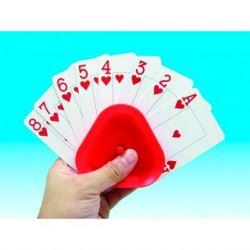 Agarra-cartas triangular