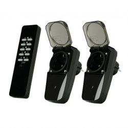 Conjunto de interruptores inalámbrico para exterior AGD2-3500R