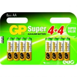 GP pilas AA multipack 8 uds