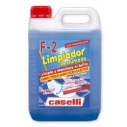 F 2 Limpiador Perfumado Caselli 5 L. - Caja 4 und.